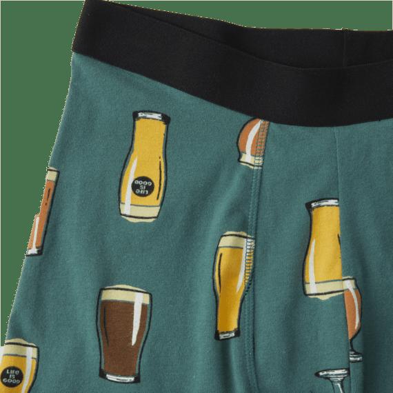Men's Beer Boxer Brief