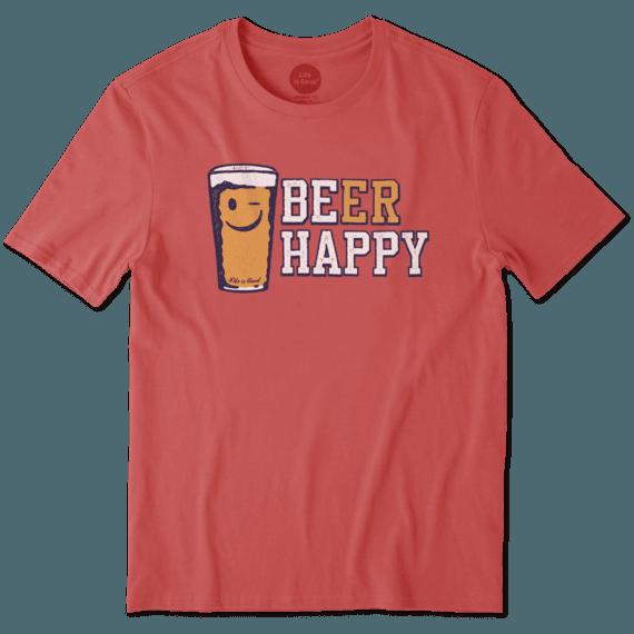Men's Beer Happy Smooth Tee