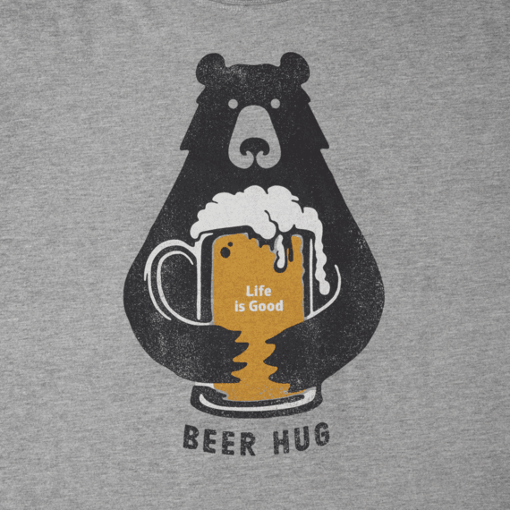 Image result for beer hug cartoon