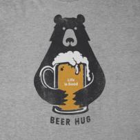 Men's Beer Hug Crusher Tee