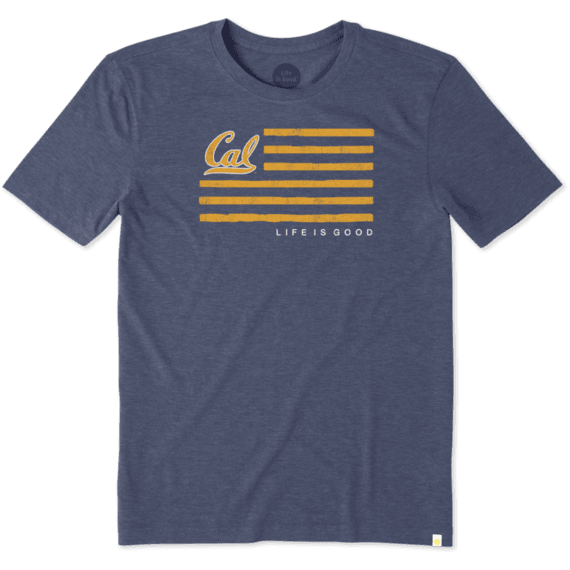 Men's Berkeley Flag Cool Tee