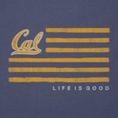 Men's Berkeley Flag Cool Tee