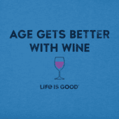 Men's Better With Wine Crusher Tee