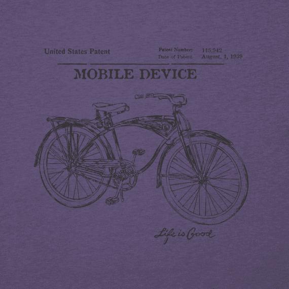 Men's Bike Blueprint Crusher Tee