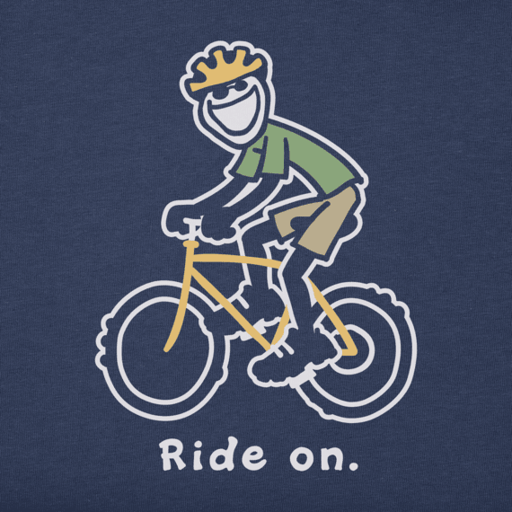 Men's Bike Jake Vintage Crusher Tee