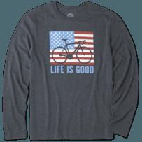 Men's Bike Partisan Long Sleeve Cool Tee