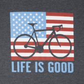 Men's Bike Partisan Long Sleeve Cool Tee