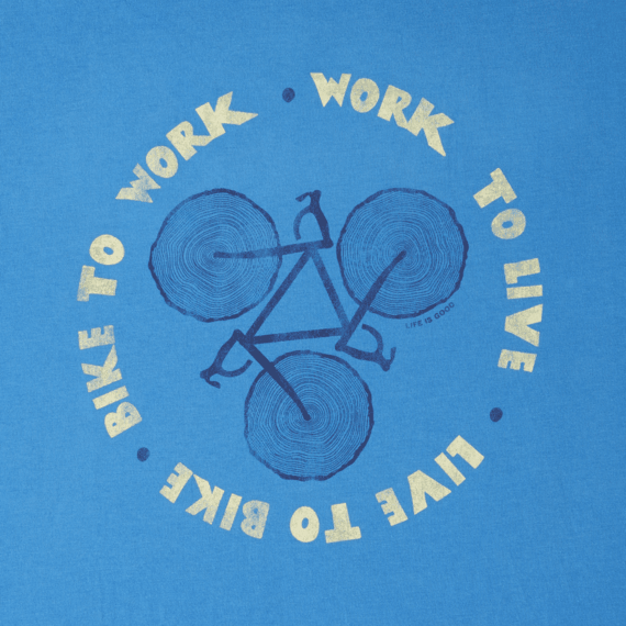 Men's Bike to work Smooth Tee