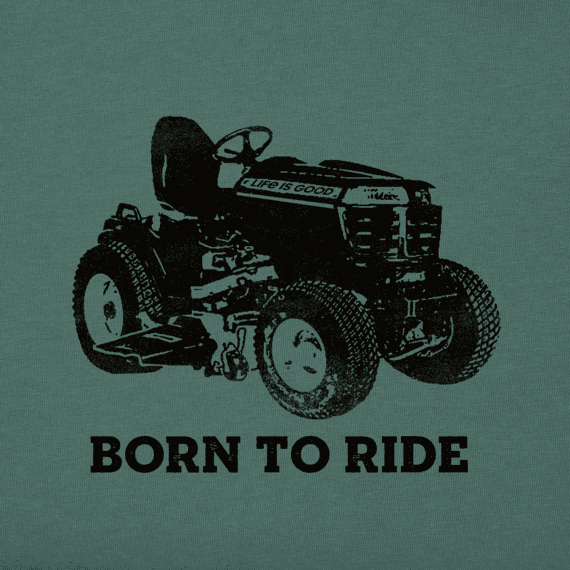 Men's Born to Ride Mower Crusher Tee
