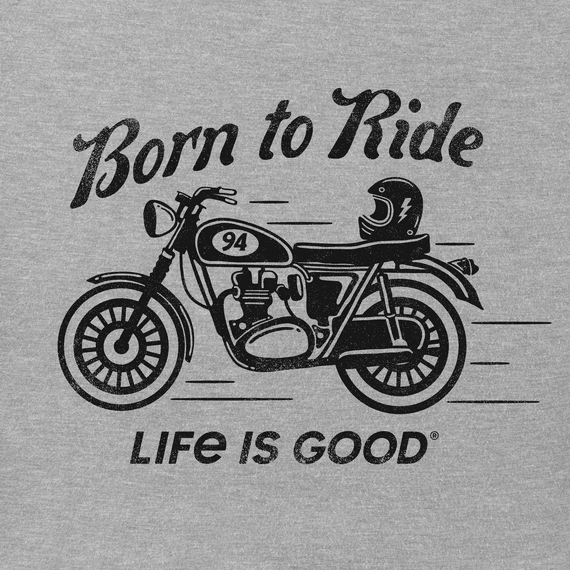 Men's Born to Ride Crusher Tee