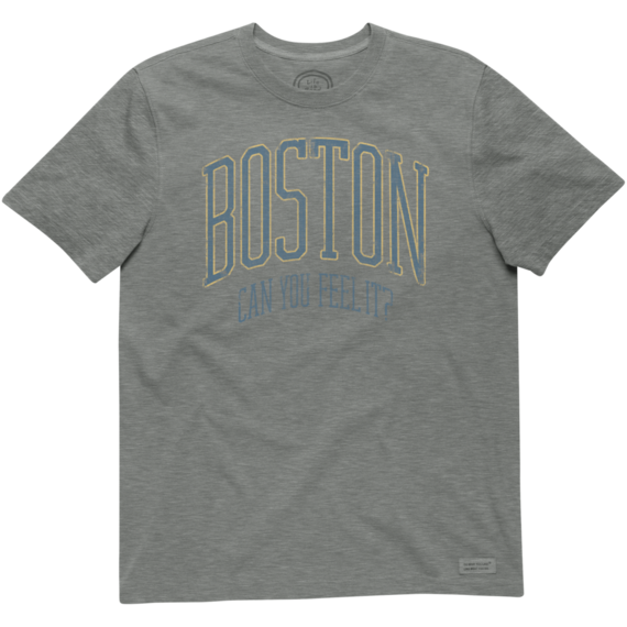 Men's Boston Can You Feel It Crusher Tee