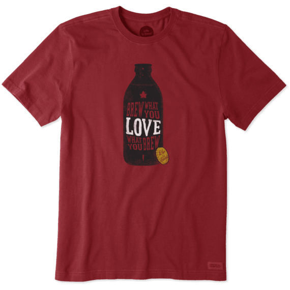 Men's Brew What You Love Crusher Tee