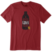 Men's Brew What You Love Canada Crusher Tee