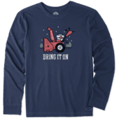 Men's Bring It On Snowblower Long Sleeve Crusher Tee