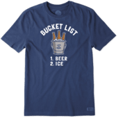 Men's Bucket List Crusher Tee