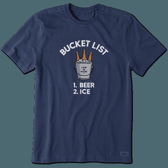 Men's Bucket List Crusher Tee