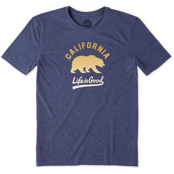 Men's California Golden Bears Gradient Tailwhip Cool Tee