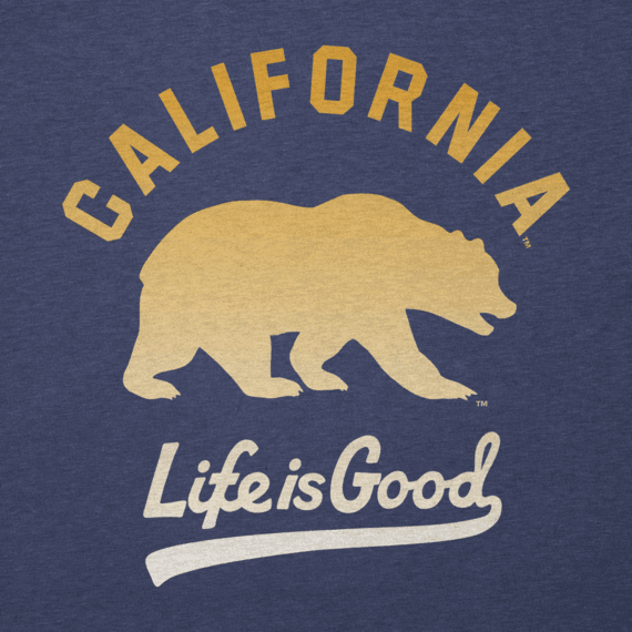 Men's California Golden Bears Gradient Tailwhip Cool Tee