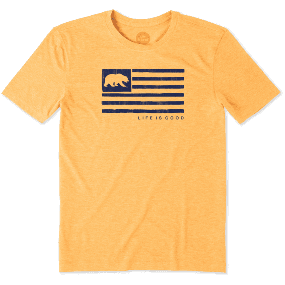 Men's California Golden Bears Team Flag Cool Tee