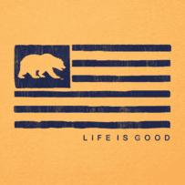 Men's California Golden Bears Team Flag Cool Tee