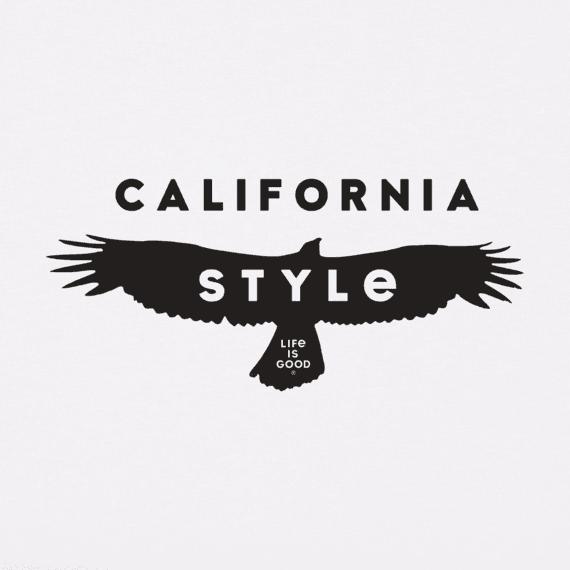 Men's California Style Crusher Tee