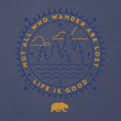Men's California Wander Long Sleeve Cool Tee