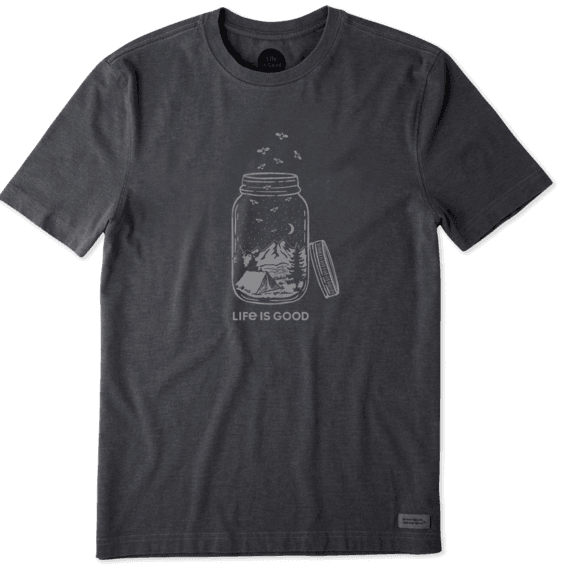 16564e38 Men's Camp Jar Crusher Tee | Life is Good® Official Site