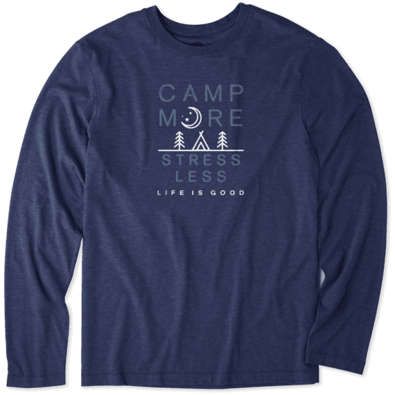 Men's Camp More Long Sleeve Cool Tee