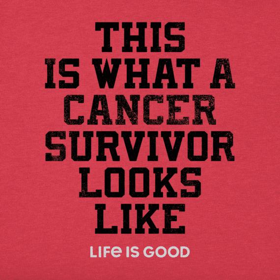 Men's Cancer Survivor Looks Like Crusher Tee