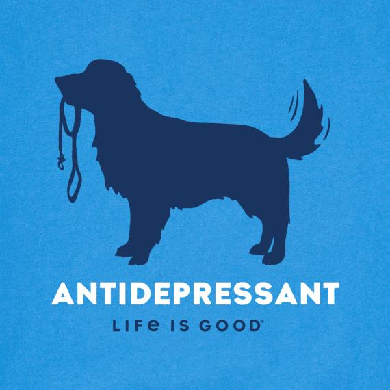 Men's Canine Antidepressant Long Sleeve Crusher Tee
