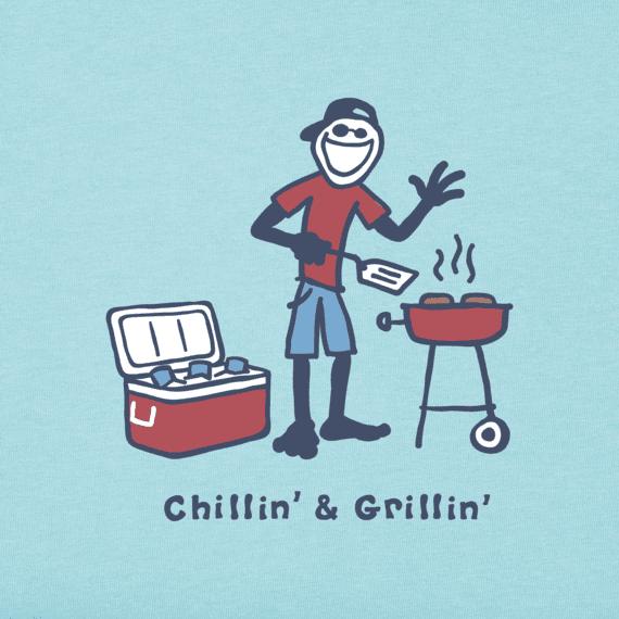 Men's Chillin' & Grillin' Vintage Crusher Tee
