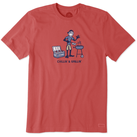 Men's Chillin' Grillin' Crusher Tee