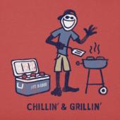 Men's Chillin' Grillin' Crusher Tee