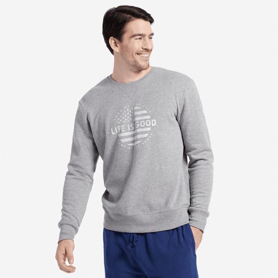 Men's Circle Flag Crew Sweatshirt