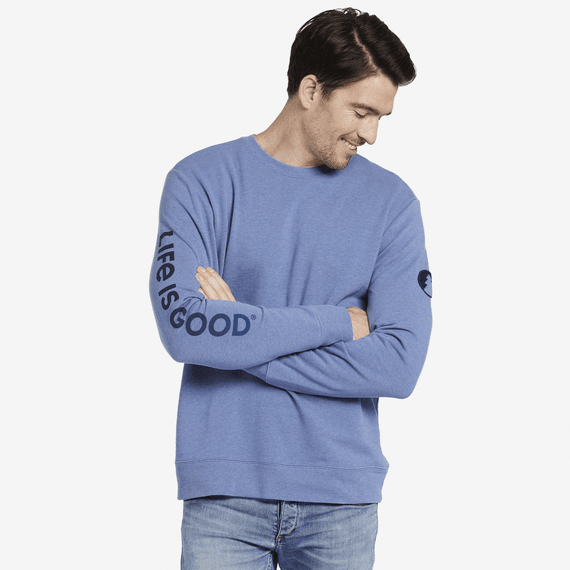 Men's Circle Pine Simply True Crew