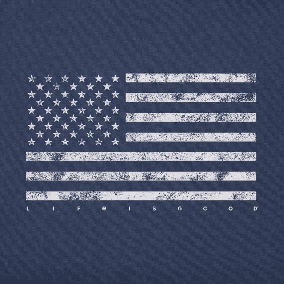 Men's Classic Flag USA Crusher Tee