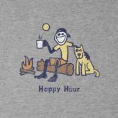 Men's Classic Happy Hour Crusher Tee