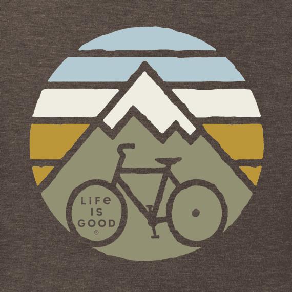 Men's Clean Mountain Bike Long Sleeve Crusher Tee