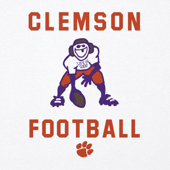 Men's Clemson Athlete Jake Cool Tee
