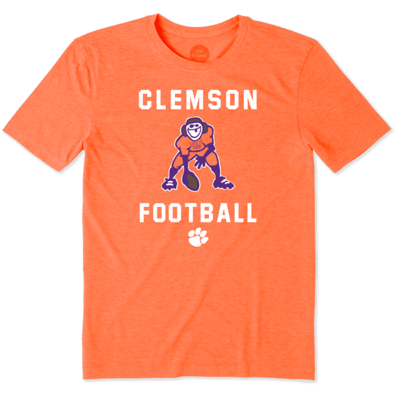 Men's Clemson Tigers Football Jake Cool Tee