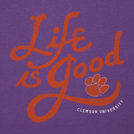 Men's Clemson Tigers Flourish Lig Cool Tee