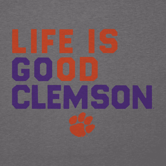 Men's Clemson Tigers LIG Go Team Cool Tee