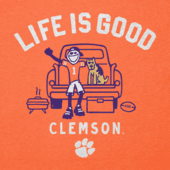 Men's Clemson Tigers Tailgate Jake Cool Tee