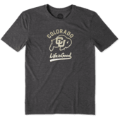 Men's Colorado Buffaloes Gradient Tailwhip Cool Tee