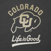 Men's Colorado Buffaloes Gradient Tailwhip Cool Tee