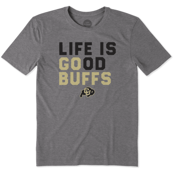 Men's Colorado Buffaloes LIG Go Team Cool Tee