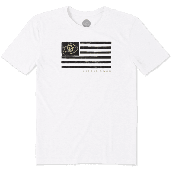 Men's Colorado Buffaloes Team Flag Cool Tee