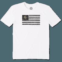 Men's Colorado Buffaloes Team Flag Cool Tee