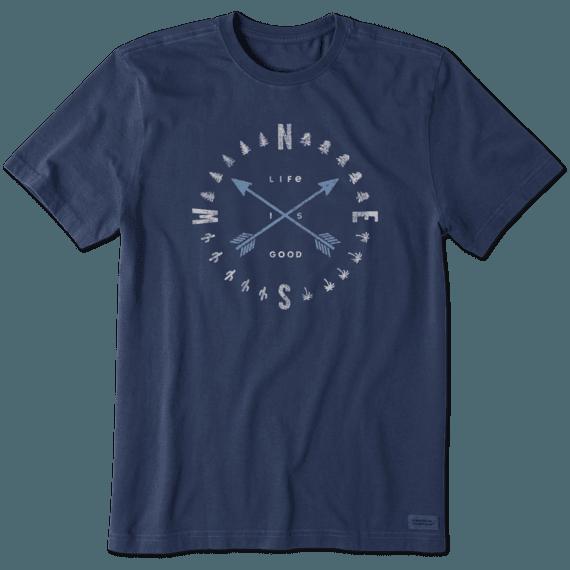 Men's Compass Arrows Crusher Tee
