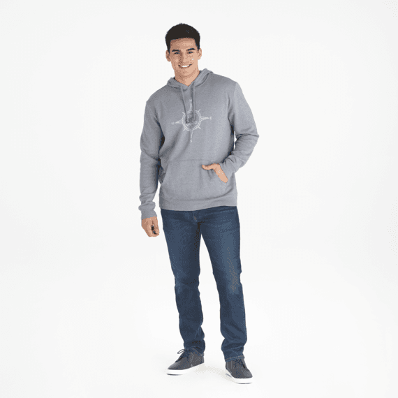 Men's Compass Simply True Hoodie